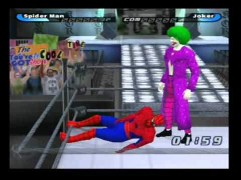Spider-man  vs  The Joker