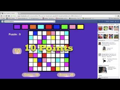 Video of Colour Sudoku