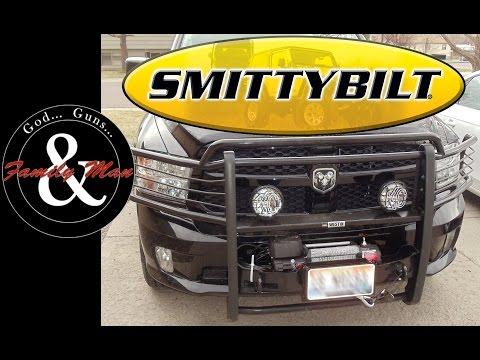 Installing a Smittybilt Winch on RAM 1500