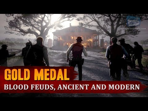 Red Dead Redemption 2 - Mission #41 - Blood Feuds, Ancient and Modern [Gold Medal]