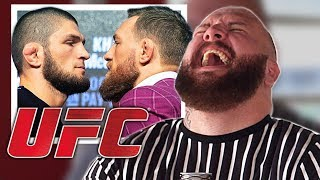 Video KHABIB vs McGREGOR - Press Conference Reaction MP3, 3GP, MP4, WEBM, AVI, FLV Desember 2018