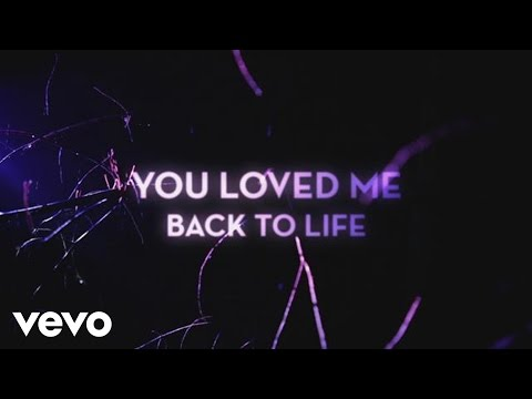 Loved Me Back to Life Lyric Video
