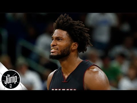 Video: Justise Winslow wants to be the Heat's point guard this season | The Jump