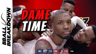 Damian Lillard Hits The Most Epic Game Winner In NBA History by BBallBreakdown