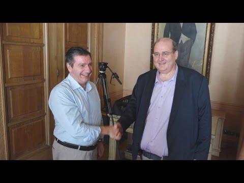 Με τον Δήμαρχο Αθηναίων συναντήθηκε ο υπουργός Παιδείας