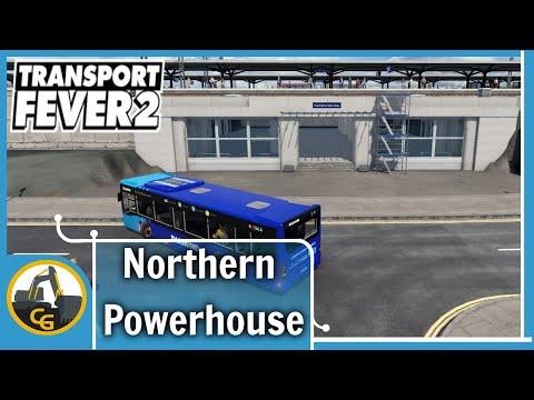 Transport Fever 2 UK Northern Power | Warrington rebuild | Timelapse #1
