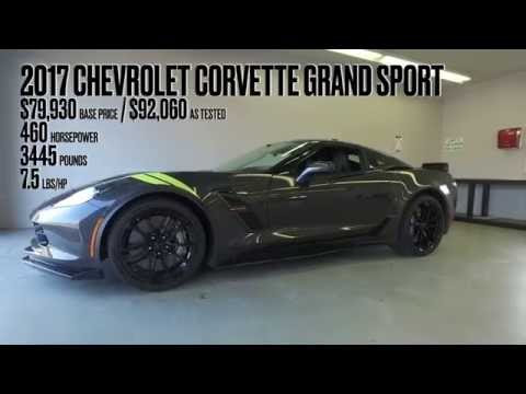 2017 chevrolet corvette grand sport @ lightning lap 2016