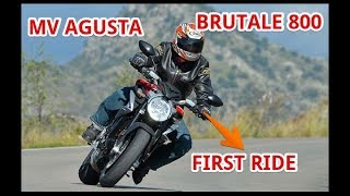 4. MV Agusta Brutale 800 First Ride Review