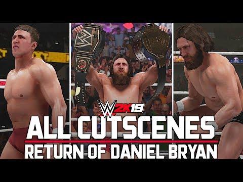 WWE 2K19: All Cutscenes | Return of Daniel Bryan 2K Showcase!