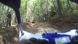 9. YXZ1000R SS Technical trails Brown Mountain Part 1