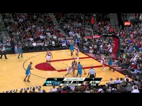 New Orleans Hornets 96 – Portland Trail Blazers 103
