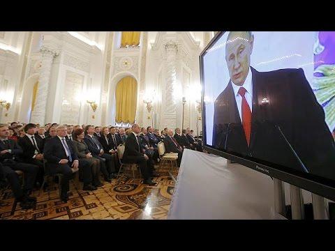 Πούτιν: «Δεν ψάχνουμε εχθρούς, χρειαζόμαστε φίλους»