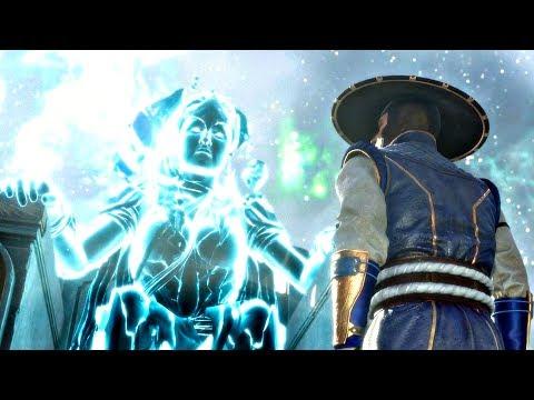 MORTAL KOMBAT 11 - Raiden Meets Elder Gods & Asks About Dark Raiden From Future (MK11 2019) PS4 Pro - Thời lượng: 80 giây.