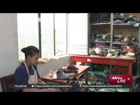 Ethiopia model moves from cat walk glamour to shoe making on KEFET.COM