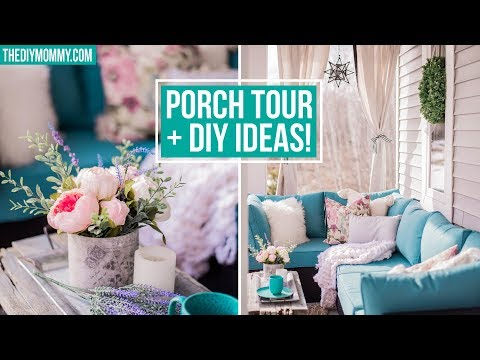 Porch Decor | Diy Ideas For Spring! 🌸