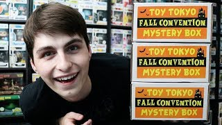 Video Toy Tokyo NYCC Exclusive Mystery Boxes x3 MP3, 3GP, MP4, WEBM, AVI, FLV Oktober 2018