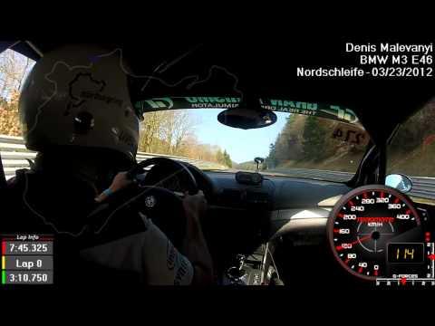 BMW M3 E46 Nurburgring  Nordschleife 7:47 full lap
