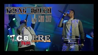 YOUNG DOLPH   PERFORMING LIVE AFTER BEING SHOT AT MULTIPLE TIMES OUTSIDE VENU CIAA WEEKEND.