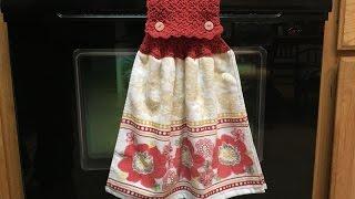 Video How to crochet a towel topper MP3, 3GP, MP4, WEBM, AVI, FLV Juni 2019