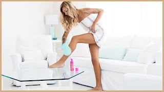glow with the faux foaming self-tanner