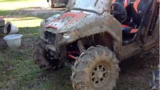 10. Rzr 800 and Rancher 420 walk around