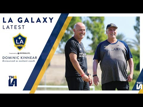 Video: Dominic Kinnear named LA Galaxy Assistant Coach | LATEST