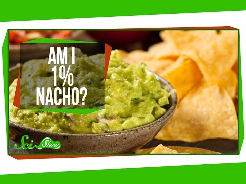 Nacho - If you weighed 99 lbs, and ate 1 lbs of nachos, would that make you 1% nacho? Hank attempts to answer this question with a series of deeper questions on this...