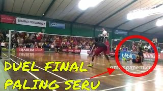 Video DUEL KETAT FINAL BADMINTON BUPATI CUP KUDUS MP3, 3GP, MP4, WEBM, AVI, FLV Oktober 2018