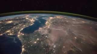 ISS Timelapse - European overflight by night (30 Marzo 2015)