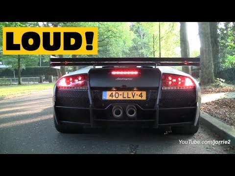 downshift - FB: http://www.facebook.com/Jorrie2YT & http://www.facebook.com/jorrik.aben I recorded a matte black Lamborghini Murcielago LP670-4 Super Veloce fitted with ...