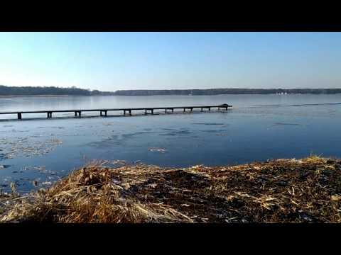 Wideo1: Budowa drugiej plaży nad Jeziorem Sławskim