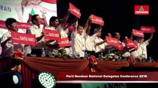 20161009 Gerakan 45th National Delegates Conference 2016