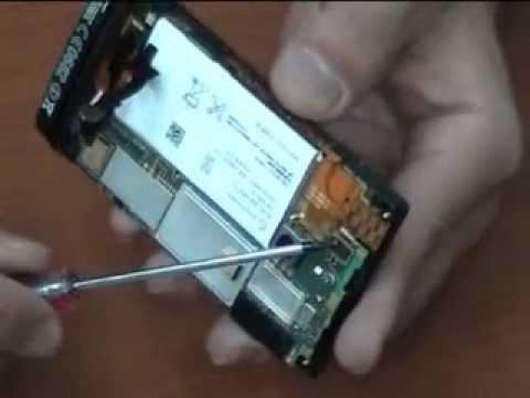 Как заменить аккумулятор lt22i