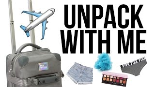 Unpack With Me: How I Pack a Carry-On for Travel  ▸ VICKYLOGAN by VICKYLOGAN