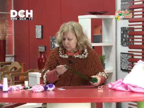 Cojín con Hortensias - Irma Ramos