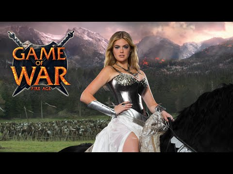"Game Of War: Live Action Trailer - ""reputation"" Ft. Kate Upton"