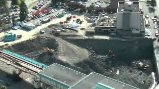 October 9, 2013. TimeLapse Video Of A Surrey BC Construction Site