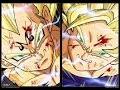 SSJ2 Goku vs Majin Vegeta Full Fight Alternate OST HD