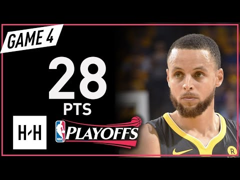 Stephen Curry Full Game 4 Highlights Rockets vs Warriors 2018 NBA Playoffs WCF - 28 Pts! (видео)