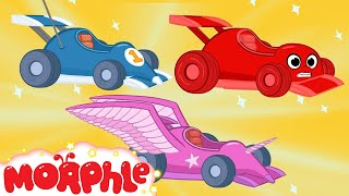 Video Race Car Morphle and The kids Super Heroes! My Magic Pet Morphle Animations For Kids MP3, 3GP, MP4, WEBM, AVI, FLV Oktober 2017