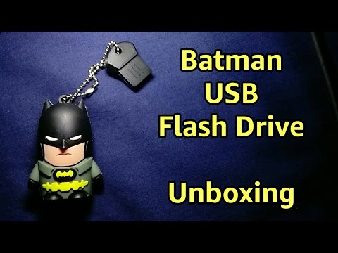 Batman USB Flash Drive   Unboxing   Review