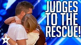 Video JUDGES SAVE AUDITIONS on America's Got Talent & Britain's Got Talent MP3, 3GP, MP4, WEBM, AVI, FLV Desember 2018