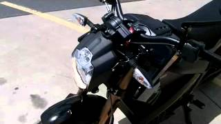 10. 2012 100% Electric ZERO Motorcycle review!