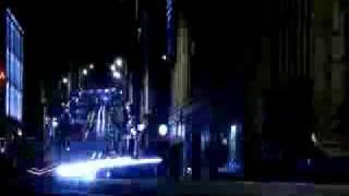 Traffic at night time-lapse, Bristol