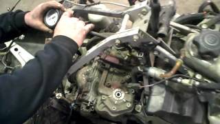 6. LOT 2390A 2005 Ski Doo 1000 SDI Engine Compression Test