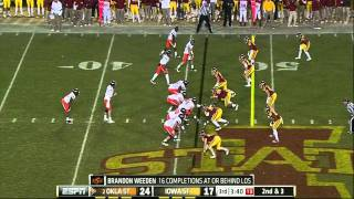 Leonard Johnson vs Oklahoma State 2011