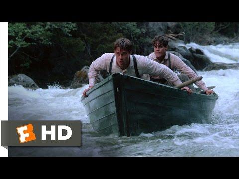 A River Runs Through It (2/8) Movie CLIP - Shooting the Chutes (1992) HD