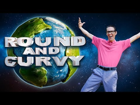 "FLAT EARTH Music Video - ""ROUND And CURVY"" - Weird Al's 'White And Nerdy'"