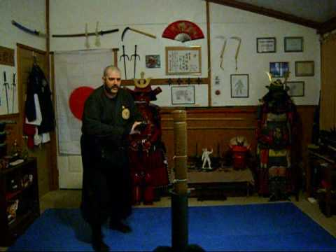 152-KATANA TRAINING OF THE SHINOBI WITH MOUNTAINOUS AND DANBOWENTV (видео)