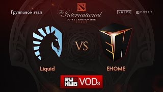 Liquid vs EHOME, game 1